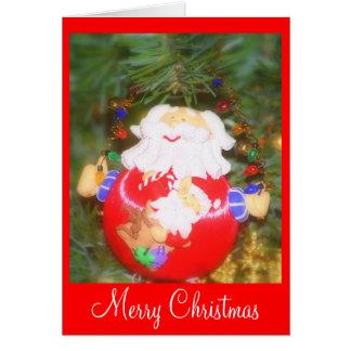 Frohe Weihnachten - besonders angefertigt Karte