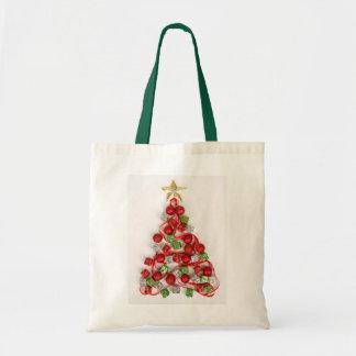Frohe Weihnachten Budget Stoffbeutel