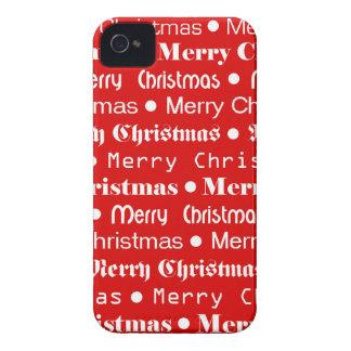 Frohe Weihnachten Case-Mate iPhone 4 Hülle