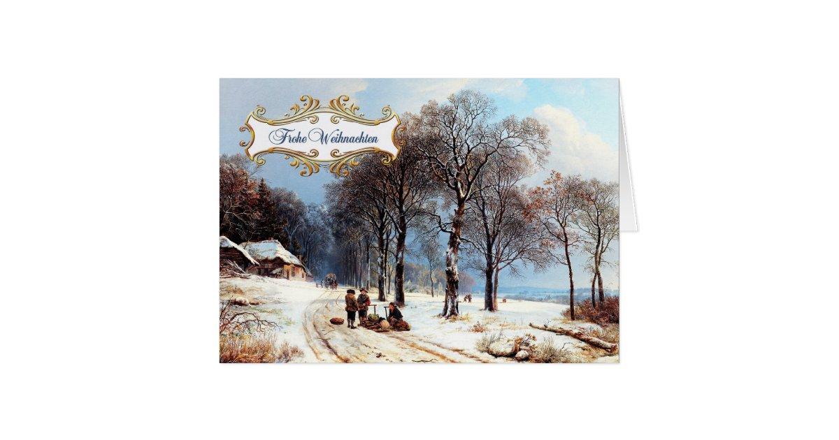 frohe weihnachten deutsche weihnachtskarten gru karte. Black Bedroom Furniture Sets. Home Design Ideas