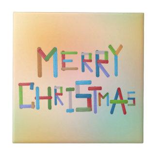 Frohe Weihnachten Fliese