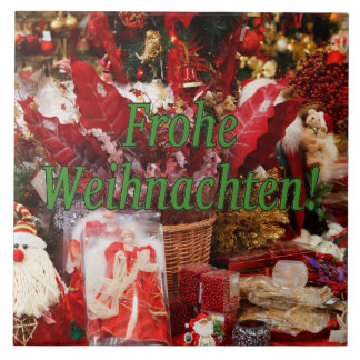 Frohe Weihnachten! Frohe Weihnachten im deutschen Keramikfliese
