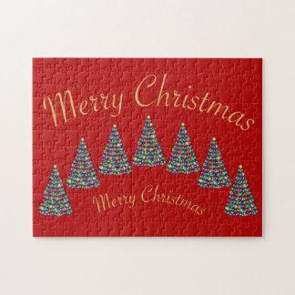 Frohe Weihnachten, frohe Weihnachten Puzzle