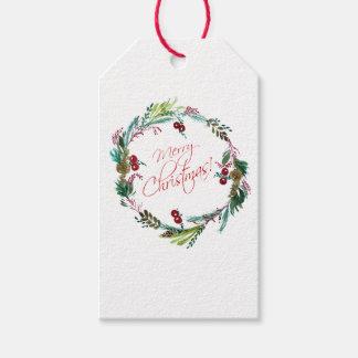 Frohe Weihnachten Geschenkanhänger