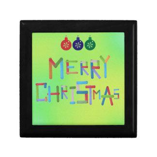 Frohe Weihnachten Geschenkbox