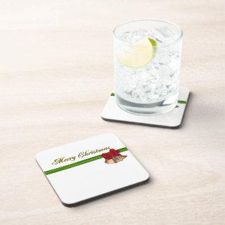 Frohe Weihnachten Getränke Untersetzer