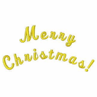Frohe Weihnachten! Gewohnheit gestickter Jacken