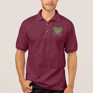Frohe Weihnachten - Grün Polo Shirt