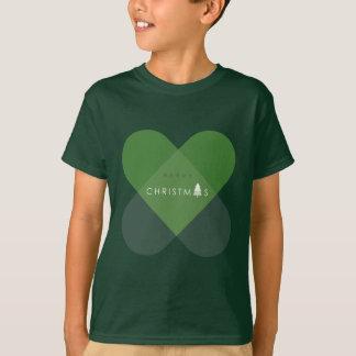 Frohe Weihnachten - Grün T-Shirt
