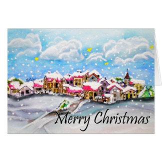 Frohe Weihnachten! Grußkarte