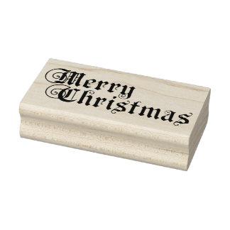 Frohe Weihnachten Gummistempel