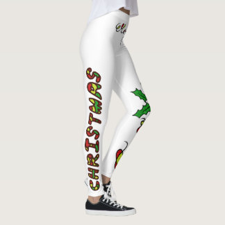 Frohe Weihnachten Handlettering Legging Leggings