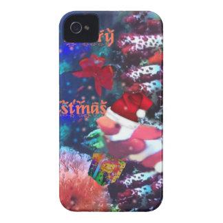 Frohe Weihnachten im Aquarium iPhone 4 Hüllen