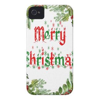 Frohe Weihnachten iPhone 4 Hüllen