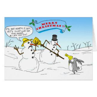 Frohe Weihnachten!! Grußkarte