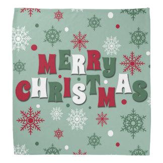 Frohe Weihnachten Kopftuch