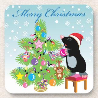 Frohe Weihnachten Untersetzer