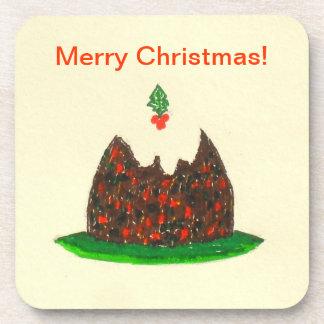 Frohe Weihnachten! Korken-Untersetzer