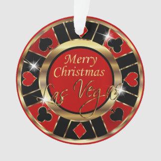 Frohe Weihnachten Las Vegas Ornament