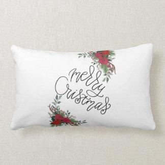 Frohe Weihnachten Lendenkissen