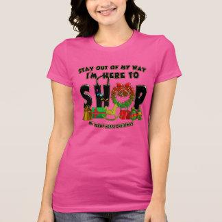 Frohe Weihnachten - lustiger Feiertags-EinkaufsT - T-Shirt