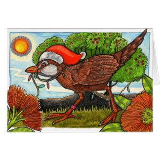 Frohe Weihnachten mit Aroha Karte