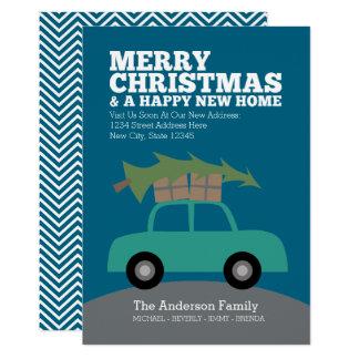 Frohe Weihnachten mit dem neuen 12,7 X 17,8 Cm Einladungskarte