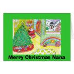 Frohe Weihnachten Nana Karte