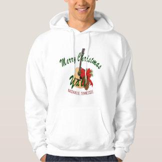 Frohe Weihnachten Nashvilles Yall das Sweatshirt