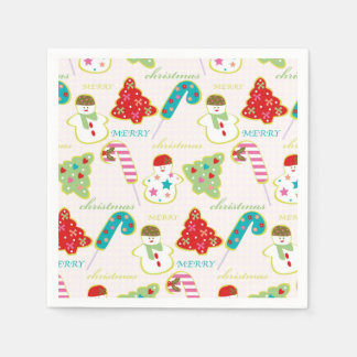 Frohe Weihnachten Papierserviette
