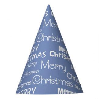 Frohe Weihnachten Partyhütchen