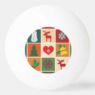 Frohe Weihnachten Ping-Pong Ball