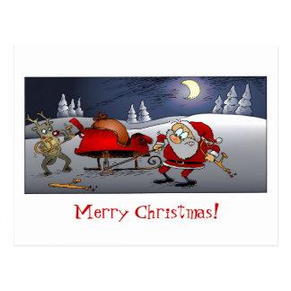 Frohe Weihnachten! Postkarten
