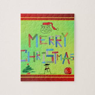 Frohe Weihnachten Puzzle