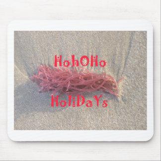 Frohe Weihnachten Sankt HoHoHo von den Mousepad
