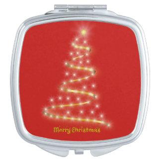 Frohe Weihnachten Schminkspiegel