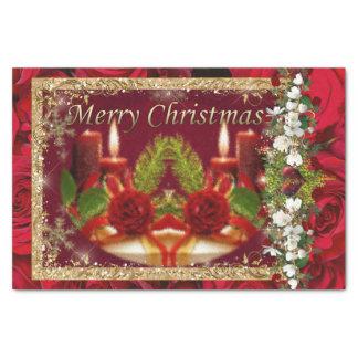 Frohe Weihnachten Seidenpapier