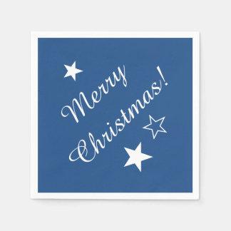 Frohe Weihnachten spielen kundengerechter Papierserviette