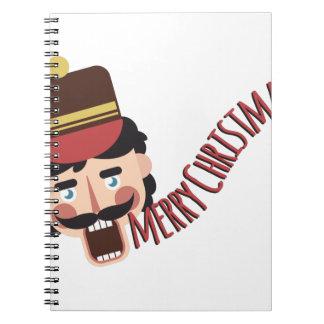 Frohe Weihnachten Spiral Notizblock