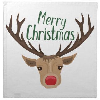 Frohe Weihnachten Stoffserviette