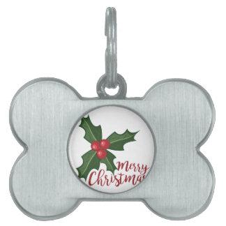 Frohe Weihnachten Tiermarke