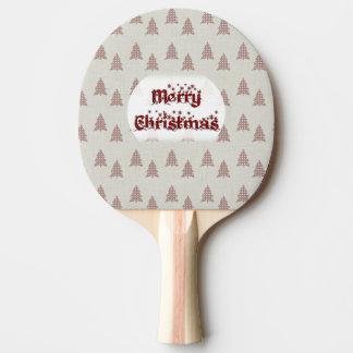 Frohe Weihnachten Tischtennis Schläger
