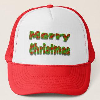 Frohe Weihnachten Truckerkappe