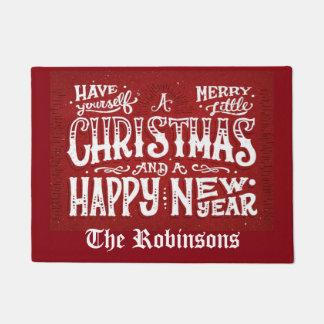Frohe Weihnachten Türmatte