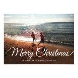 Frohe Weihnachten u. guten Rutsch ins Neue Jahr    Individuelle Ankündigungskarte