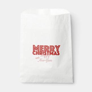 Frohe Weihnachten und guten Rutsch ins Neue Jahr Geschenktütchen
