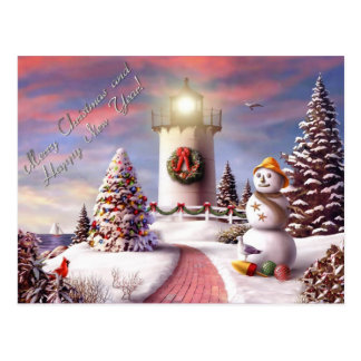 frohe Weihnachten und guten Rutsch ins Neue Jahr Postkarten
