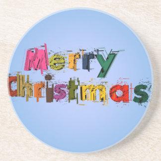 Frohe Weihnachten Untersatz