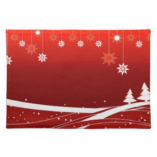 Frohe Weihnachten, verschiedene kundengerechte Tischset