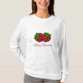 Frohe Weihnachten verzieren T-Shirt